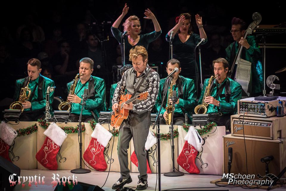 the brian setzer orchestra spread holiday cheer nycb