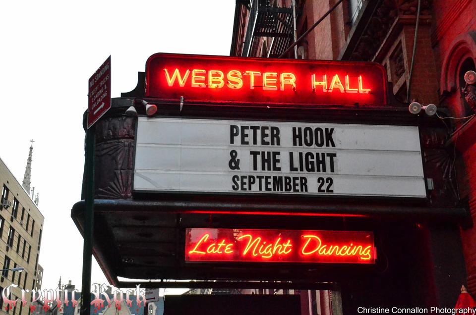 Webster hall hook up