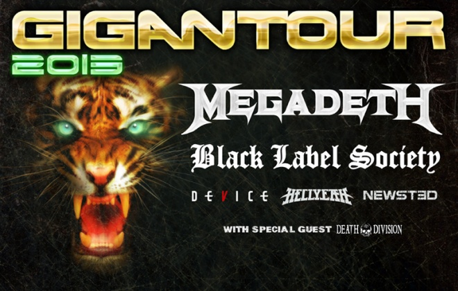 Gigantour2013 780 - Gigantour 2013 bands and tour dates have been unveiled