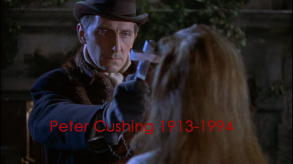 cushing cover - Cryptic Rock remember the late horror icon Peter Cushing