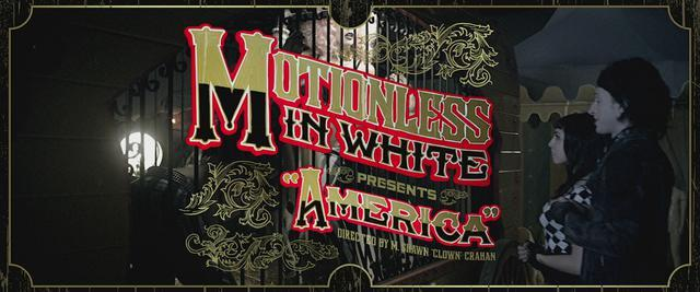 """E8FFB9F7C32E5DA533BE43E51656B9F4 - Motionless In White release video for """"America"""""""