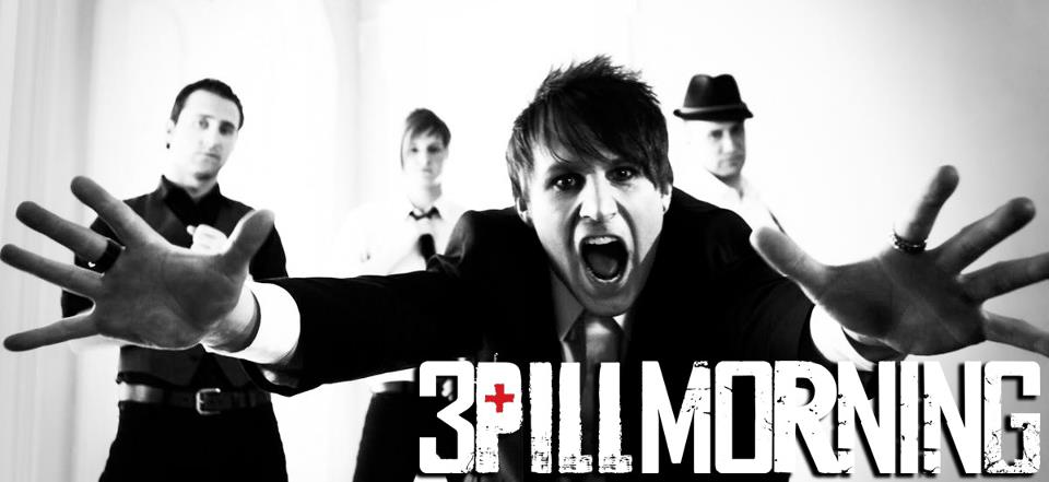 3 pill morning logo and band - Interview: Jeff Stebbins of 3 Pill Morning