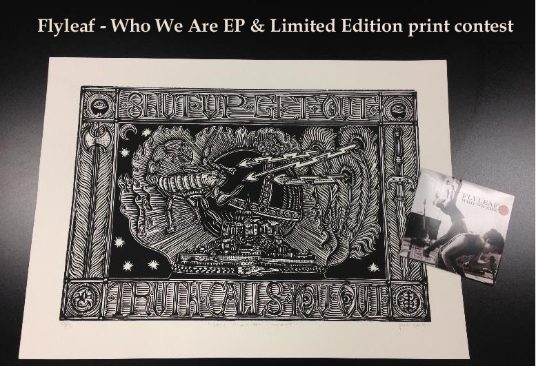 CallYouOut1 - Flyleaf - Who We Are EP & Limited Edition print contest
