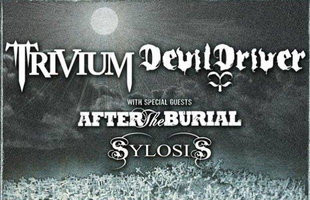 DevilDriverTriviumtour2013 - DEVILDRIVER Announce Co-Headline Tour With Trivium