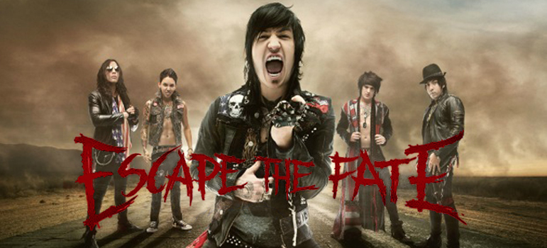 EscapeTheFate2013 creditDavidJackson edited 3 - Interview: Robert Ortiz of Escape The Fate - The story of a band on a mission
