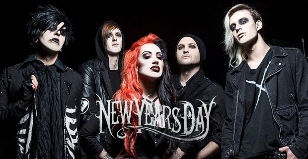 "NewYearsDay 2013 edited 4 - New Years Day announce ""The We Love"" Tour with Combichrist & William Control"