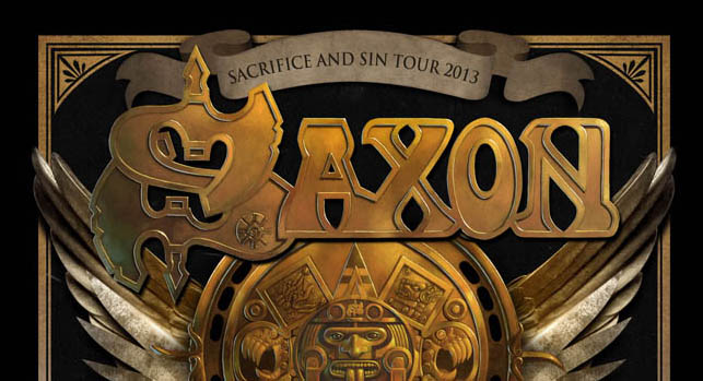 saxon edited 1 - Win a pair of tickets for Saxon & Fozzy Concert at The Emporium in Patchogue NY 9-12-13