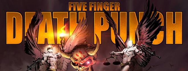 FFDP Heaven And Hell slide - Five Finger Death Punch - The Wrong Side of Heaven and the Righteous Side of Hell Volume 1 (Album review)