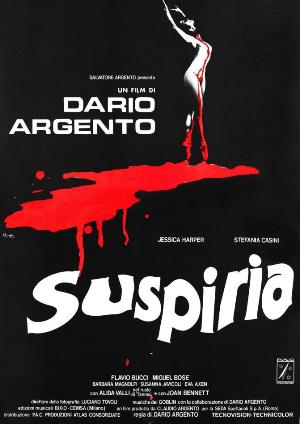 SuspiriaOneSheet - Favorite Horror Movies Revealed: Victor Love of Dope Stars Inc.