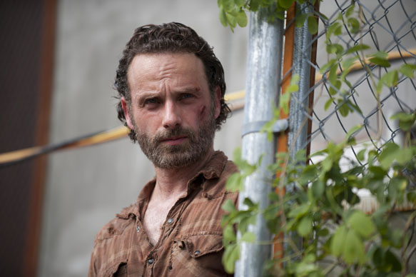 Rick Grimes (Andrew Lincoln) - The Walking Dead _ Season 4, Episode 3 - Photo Credit: Gene Page/AMC