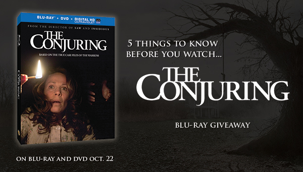TC Promo600 - Win a copy of The Conjuring on Blu-ray!