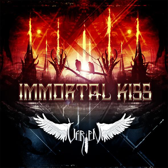 V IK Outlines Logo - Varien Seduces with His Dark 'Immortal Kiss' Free Download