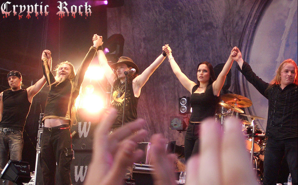 July 17, 2004 Helsinki Finland Tuska Open Air Metal Festival. Photo credit: Pauliina Åkerlund
