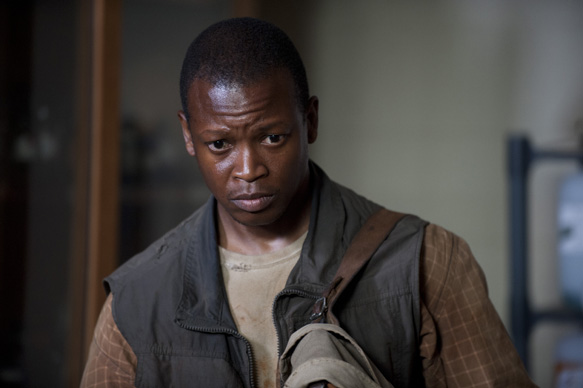 Bob Stookey (Lawrence Gilliard Jr.) - The Walking Dead _ Season 4, Episode 4 - Photo Credit: Gene Page/AMC