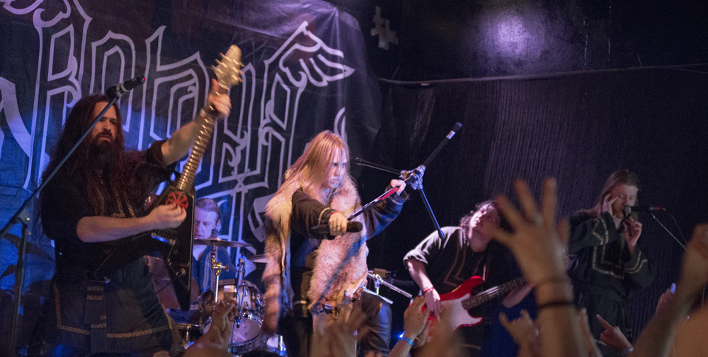 arkona cover - Arkona takes over The Joint Los Angeles,Ca 11-12-13 (Exclusive Coverage)