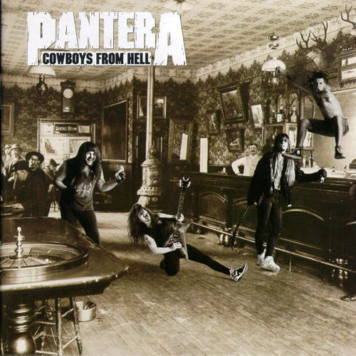 """1990 cowboys from hell - Tribute to """"Dimebag"""" Darrell Abbott 9 years later"""