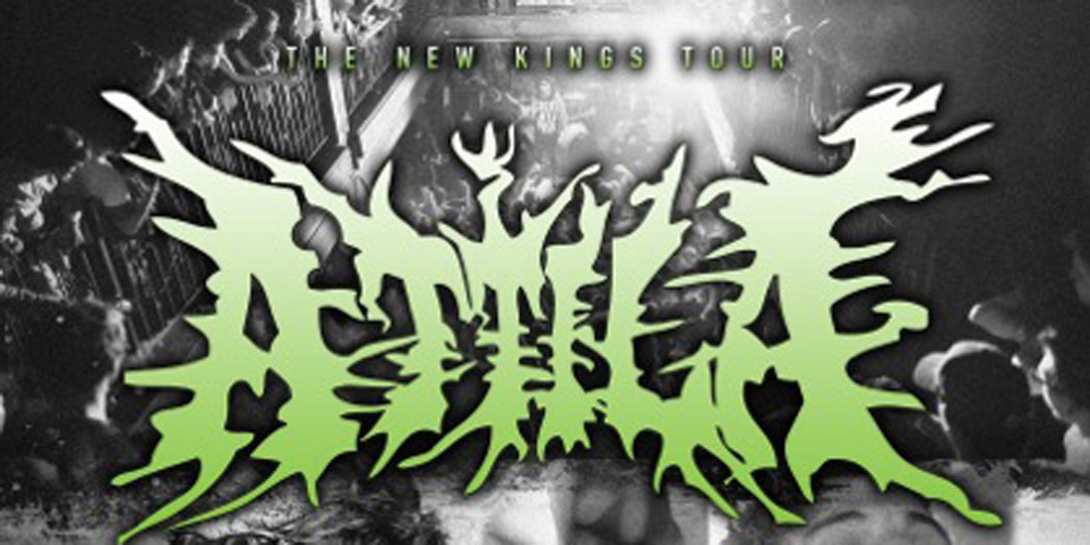 9261 - Attila announce The New Kings Tour along with Ice Nine Kills, I See Stars, Capture The Crown, & Myka,Relocate