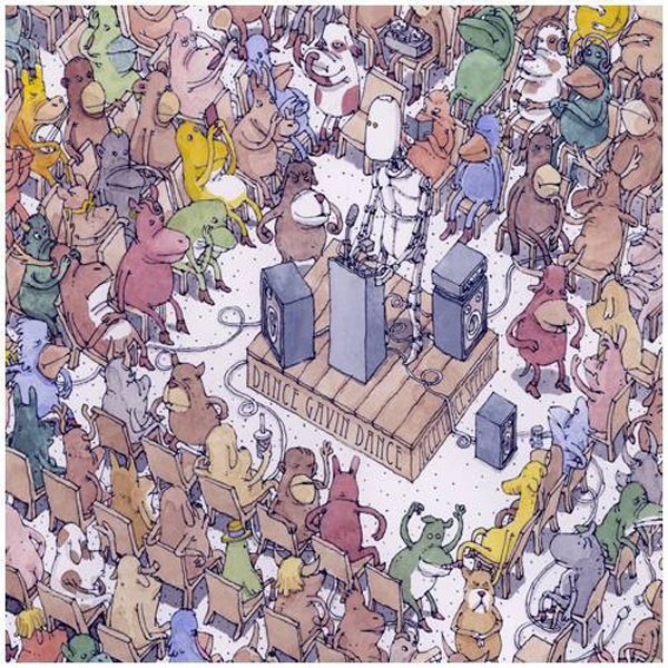 DanceGavin cd600 - Dance Gavin Dance – Acceptance Speech (Album review)