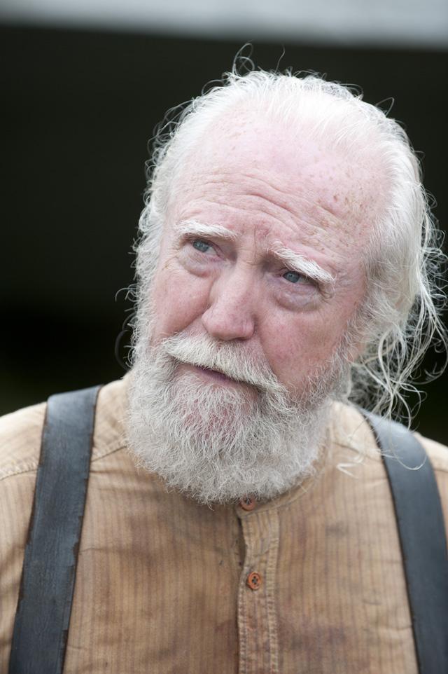 Hershel Greene (Scott Wilson) - The Walking Dead _ Season 4, Episode 8 - Photo Credit: Gene Page/AMC