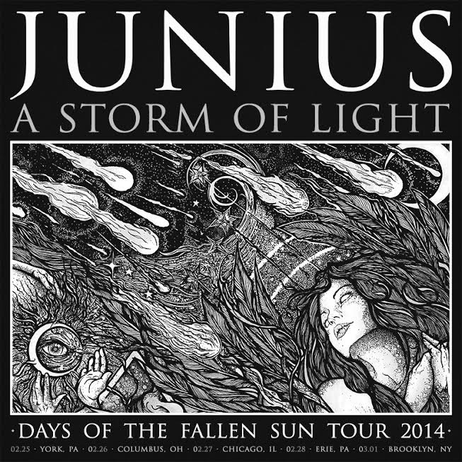 451 - A STORM OF LIGHT announce 2014 tour