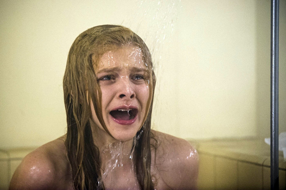 Scene from Carrie. Copyright, Screen Gems, Sony Pictures