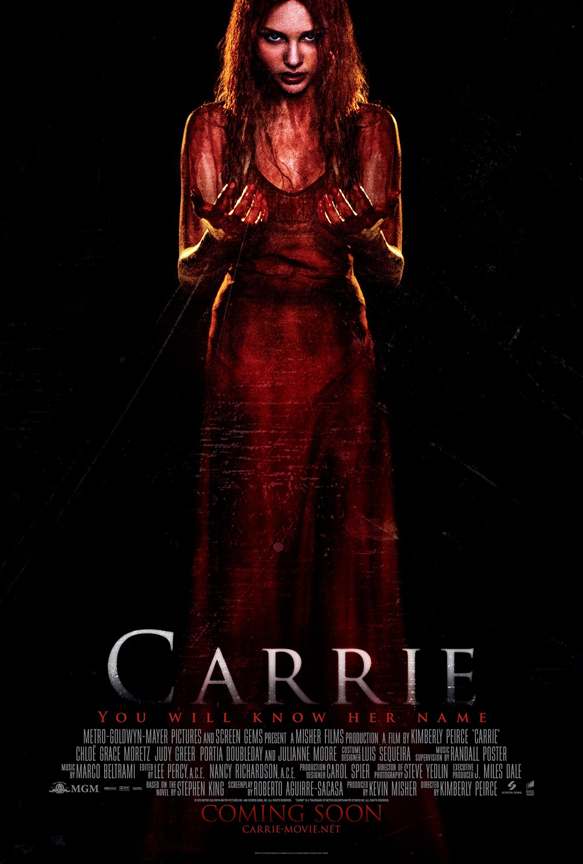 carrie poster05 - Carrie (Movie review)