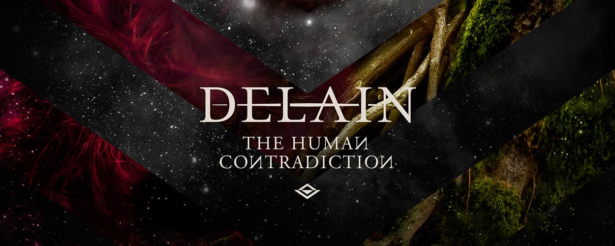 delian slide 2 -  DELAIN unveil artwork for  'The Human Contradiction'