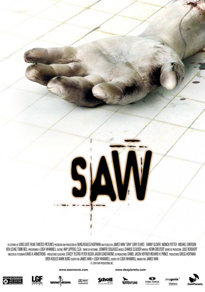 saw poster - Favorite Horror Movies Revealed: Victor Love of Dope Stars Inc.