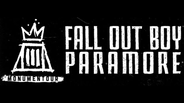 Monumentour Fall Out Boy and Paramore  - Paramore, Fall Out Boy announce MONUMENTOUR with New Politics & The Maine