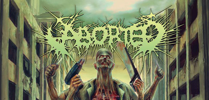 aborted slide - ABORTED reveals details for upcoming album, 'The Necrotic Manifesto'