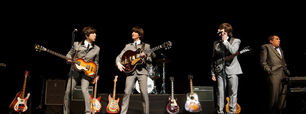 beatles cover - The Fab Four bring Beatlemania on eve of 50th anniversary to The Paramount Huntington, NY 2-8-14