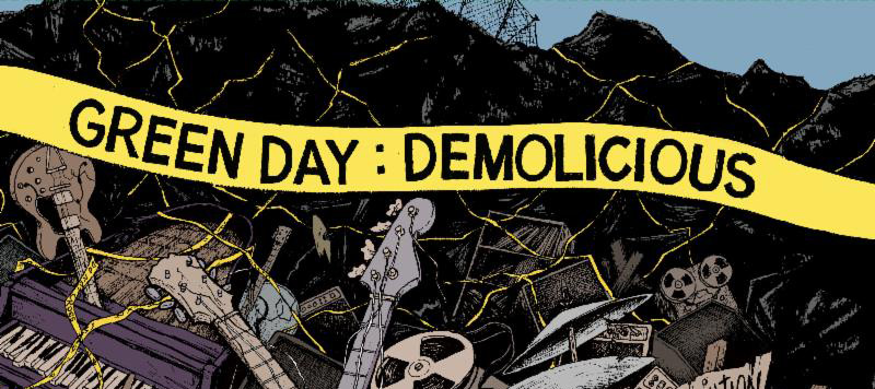 green slide - Green Day To Release 18-Song Demo Collection, Entitled 'Demolicious' On Vinyl In Conjunction With Record Store Day 2014
