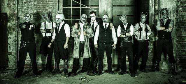 "mushroomheadband2014 638 - Megaforce Records to release new Mushroomhead Album ""The Righteous & The Butterfly"""