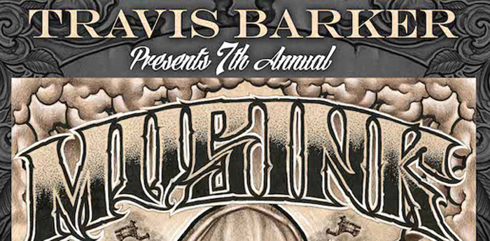u34n FNLMUSINKPOSTER4announce1 slide - TRAVIS BARKER PRESENTS THE 7TH ANNUAL MUSINK TATTOO & MUSIC FESTIVAL ON MARCH 21-23