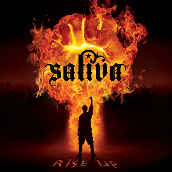 Saliva RiseUP AlbumCover HiRes new - Saliva - Rise Up (Album review)
