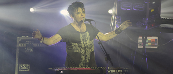 gary slide edited 10 - Gary Numan Electrifies The Mayan Theater Los Angeles, CA 3-6-14 with Roman Remains & Big Black Delta