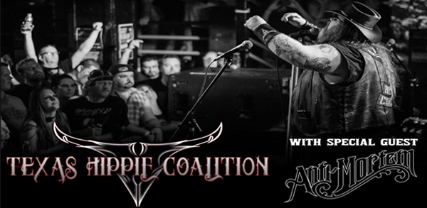 texas slide - Win a pair of tickets to see Texas Hippie Coalition & Anti-Mortem at Revolution Amityville, NY April 8th on CrypticRock.com!