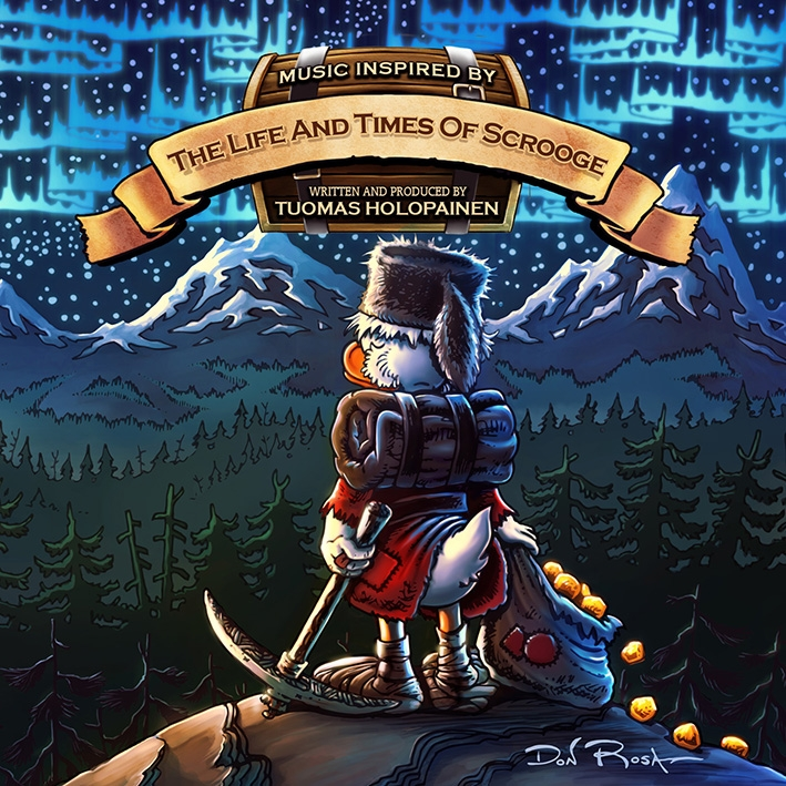 Tuomas Holopainen The Life And Times Of Scrooge Artwork - Tuomas Holopainen - Music Inspired by the Life and Times of Scrooge (Album review)