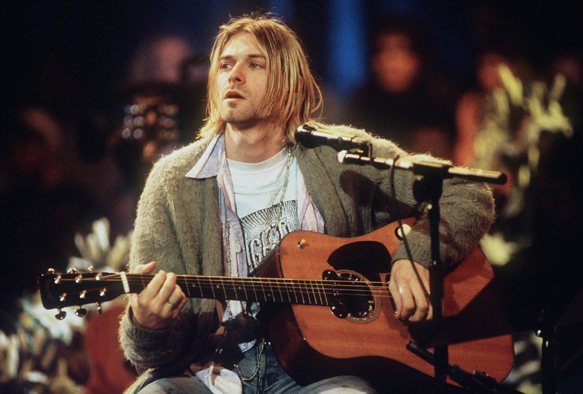 Kurt Cobain - MTV Unplugged In New York. (Promotional photo)