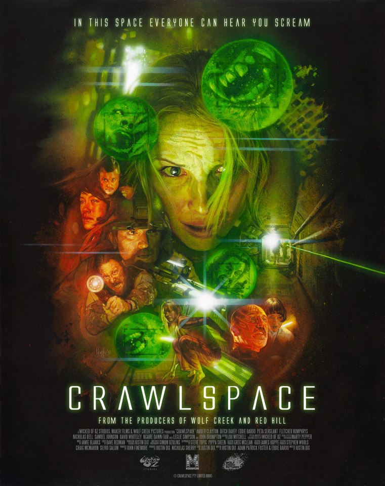 Crawlspace Poster - Interview - Filmmaker Greg McLean