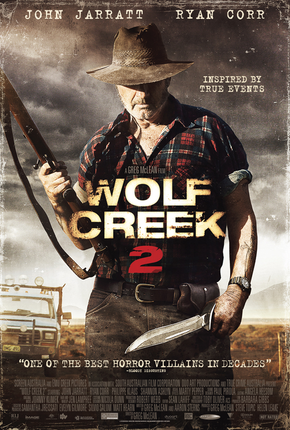 WOLF CREEK 2 THEATRICAL for article - Interview - Filmmaker Greg McLean
