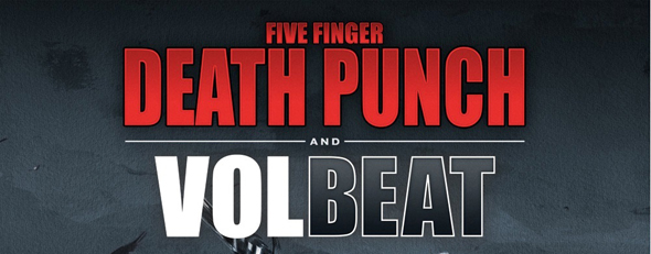 volbeat slide - Five Finger Death Punch And Volbeat Join Forces To Bring Fans One Of The Biggest Tours Of The Fall