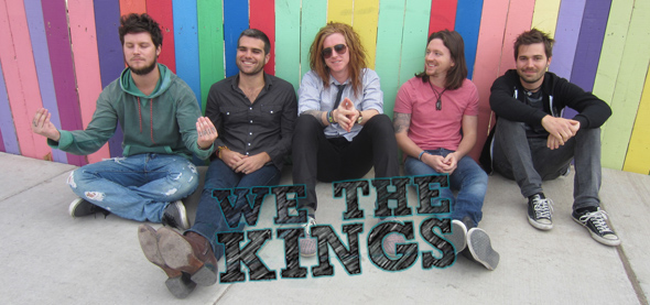 we the kinds slide - Interview - Hunter Thomsen and Coley O'Toole of We The Kings