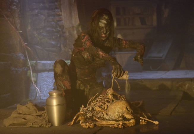 """SLEEPY HOLLOW: A witch from the 1700s has been awoken by unknown evils and returns to present day Sleepy Hollow in """"Blood Moon"""" episode of SLEEPY HOLLOW airing Monday, Sept. 23 (9:00-10:00 PM ET/PT) on FOX. ©2013 Fox Broadcasting Co. CR: Brownie Harris/FOX"""