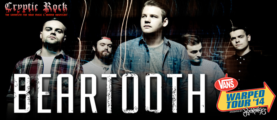beartooth slide edited 1 - Beartooth Warped Tour Ticket Giveaway