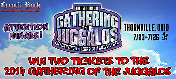 jugalos slide - Win a pair of tickets to the 15th annual The Gathering of the Juggalos on CrypticRock