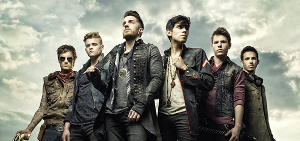 """crowntheempire2014 - Crown The Empire release video for """"Machines"""""""