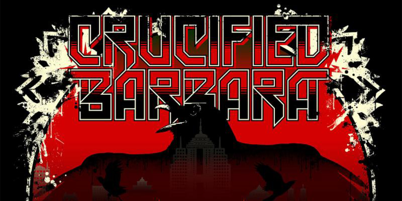 "crucified slide - Crucified Barbara reveals ""In the Red"" album artwork & track list"
