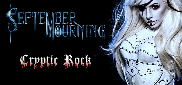 "septemver slide - September Mourning exclusive premiere of ""Superhuman"" on CrypticRock.com"