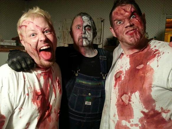 "On set set of ""Sick Man"" video shoot"